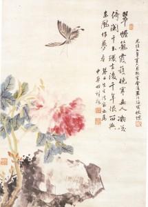 王冶梅・胡鉄梅合作画(京博図録)