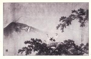 森琴石図(明治38年)