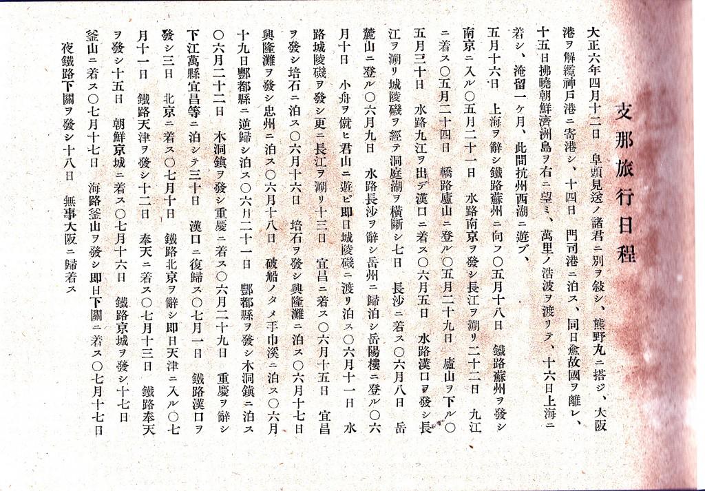 翠石画冊 旅程