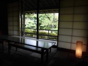 ●部屋からの庭 (1)